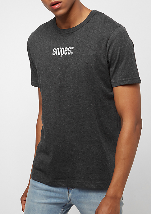 SNIPES Small Basic Logo charcoal/white