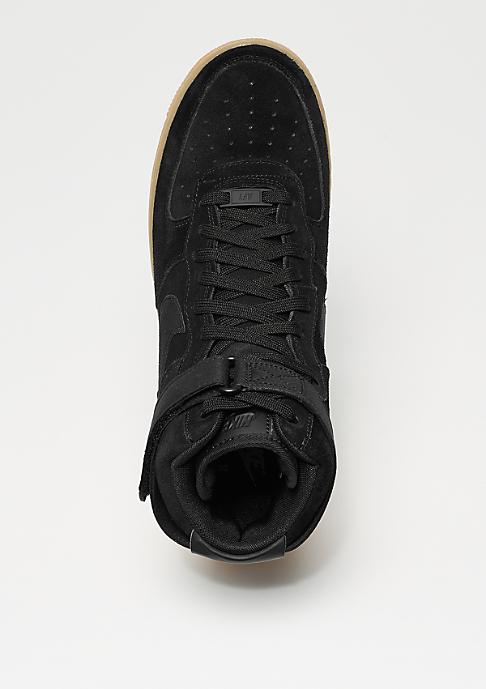NIKE Air Force 1 07 LV8 black/black/gum med brown/ivory