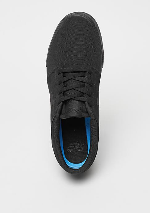 NIKE SB Skateschuh Solarsoft Portmore II Canvas black/black