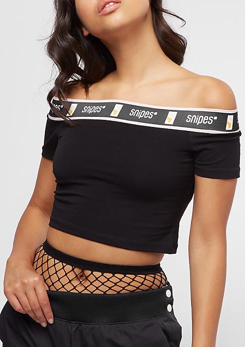 SNIPES Tape Drop Shoulder black