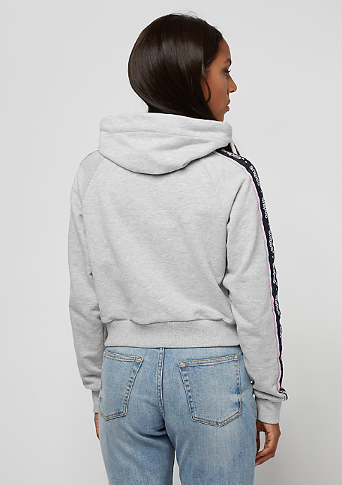SNIPES Taped High Neck grey/white