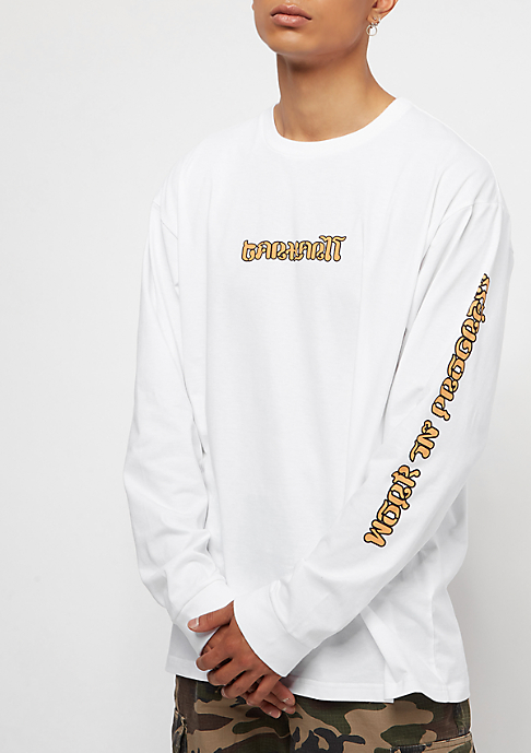 Carhartt WIP Thai Tiger white