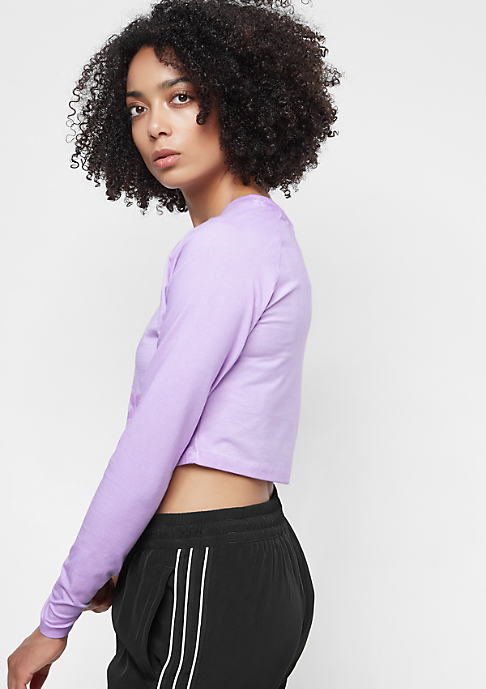 adidas The Dye Pack Crop LS crunch wash purple