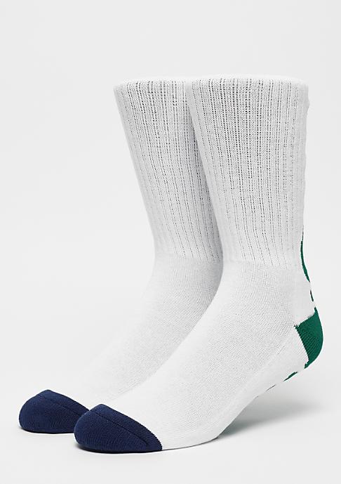 The Hundreds Bar Crew Socks white