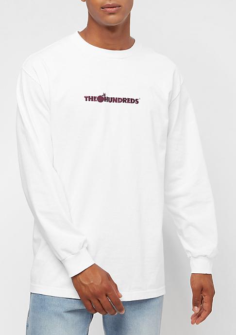 The Hundreds Bar Logo Embroidery white