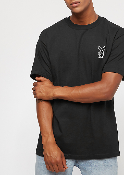 The Hundreds Peace Sign black