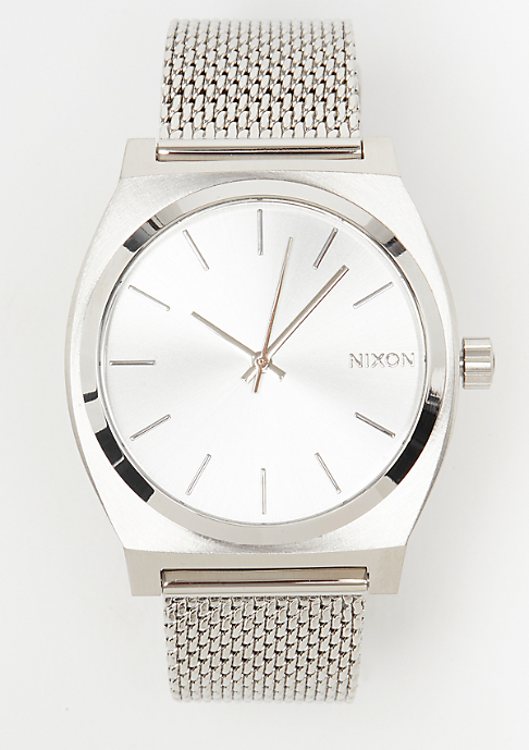 Nixon Time Teller Milanese all silver