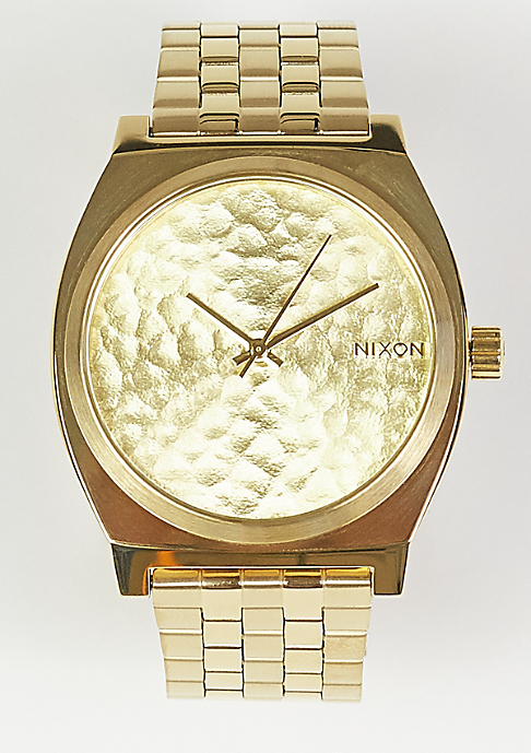 Nixon Time Teller gold/hammered