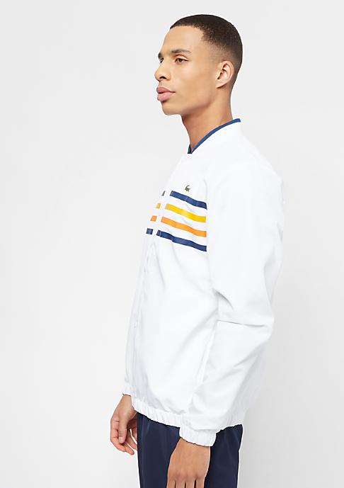 Lacoste Tracksuit white/marino