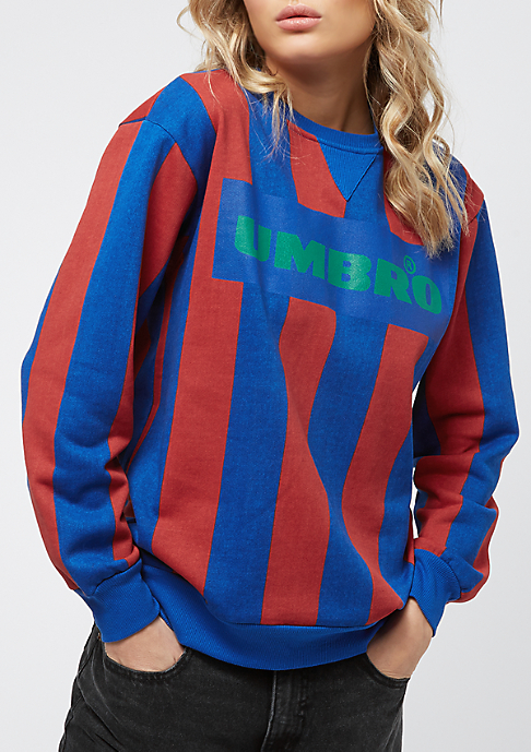 Umbro Stripey Crew blue/red/green