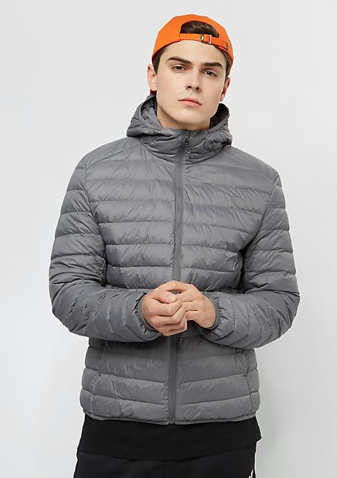 Urban Classics Basic Hooded Down dark grey