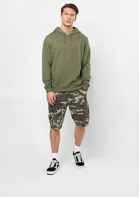 Urban Classics Hooded-Sweatshirt Basic olive