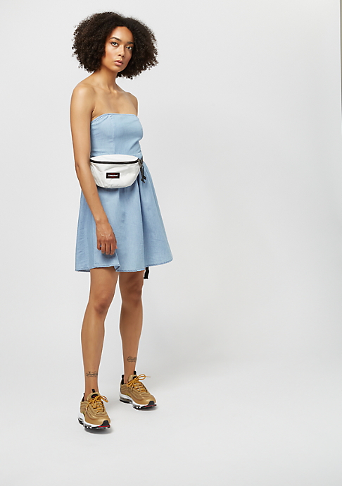 Urban Classics Ladies Denim Bandeau raw blue