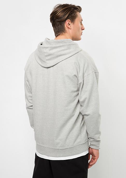 Urban Classics Hooded-Zipper Oversized Sweat grey