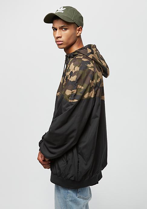 Urban Classics Oversize Pattern Arrow black/wood camo
