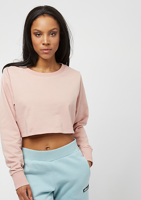 Urban Classics Terry Cropped lightrose