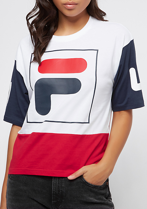 Fila Urban Line WMN Late Cropped SS 2.0 brwh/trre/blir