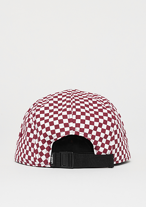 VANS Davis 5 Panel red/white check