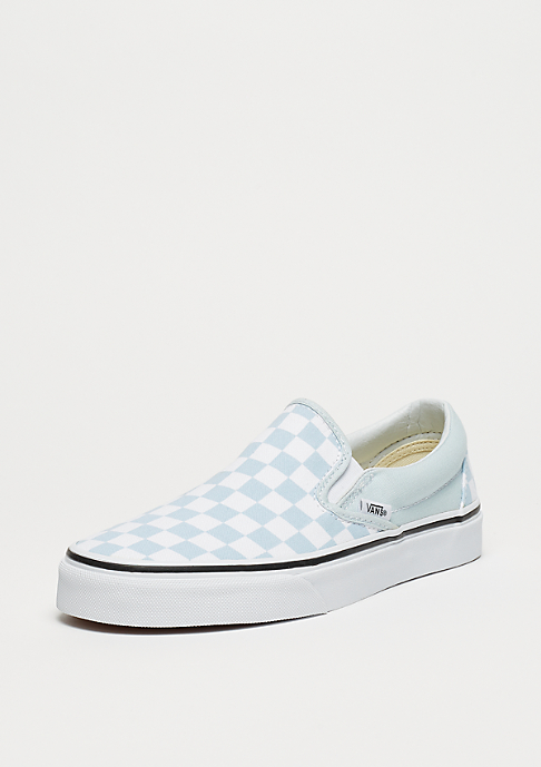 VANS UA Classic Slip-On (Checkerboard) baby blue/true white