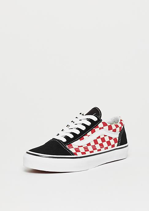 VANS UY Old Skool Checkerboard black/red