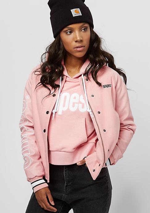 SNIPES Varsity silver pink
