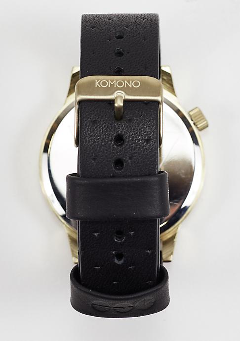 Komono Uhr Winston black zirconium