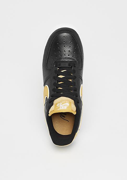 NIKE Wmns Air Force 1 black/wheat gold