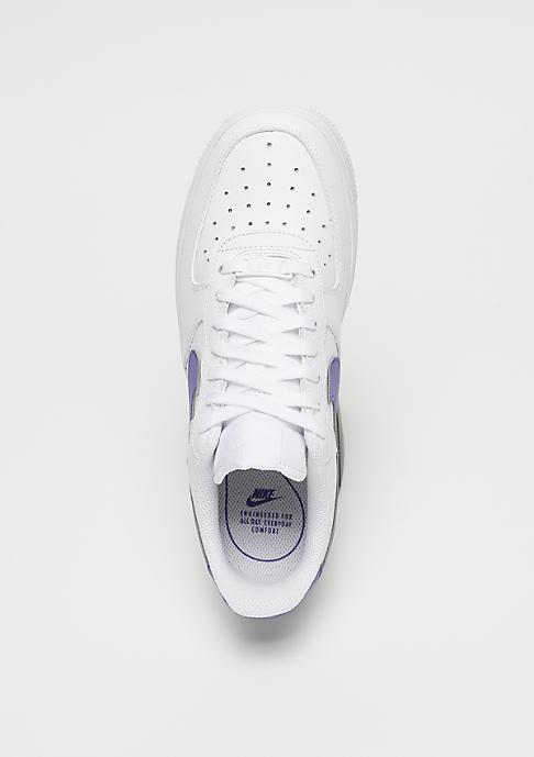 NIKE Wmns Air Force 1 white/rush violet-white