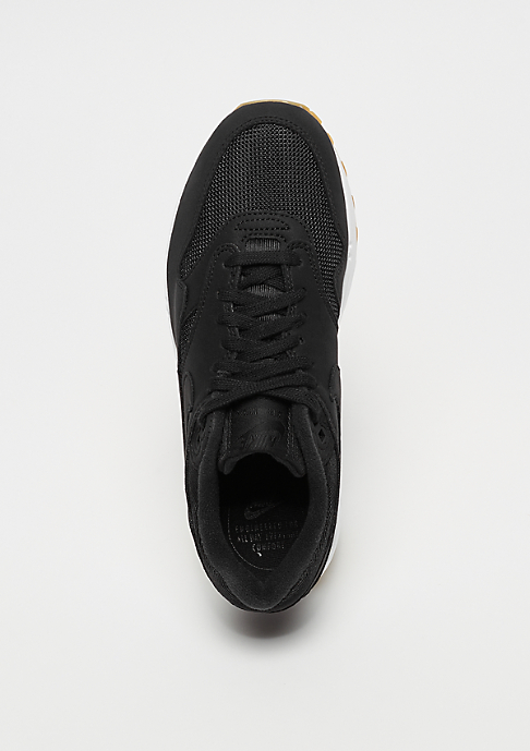 NIKE Wmns Air Max 1 black/black-gum light brown