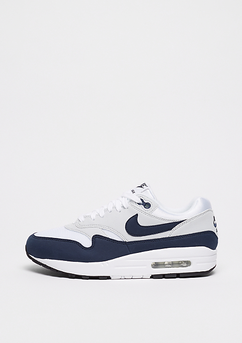NIKE Wmns Air Max 1 white/obsidian-pure platinum-black
