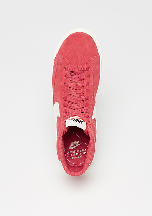NIKE Wmns Blazer Mid Suede Vintage speed red/sail-sail-black