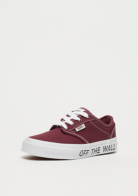 VANS YT Atwood printed fox red