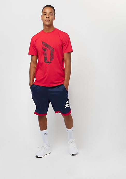 adidas Performance Dame Logo scarlet