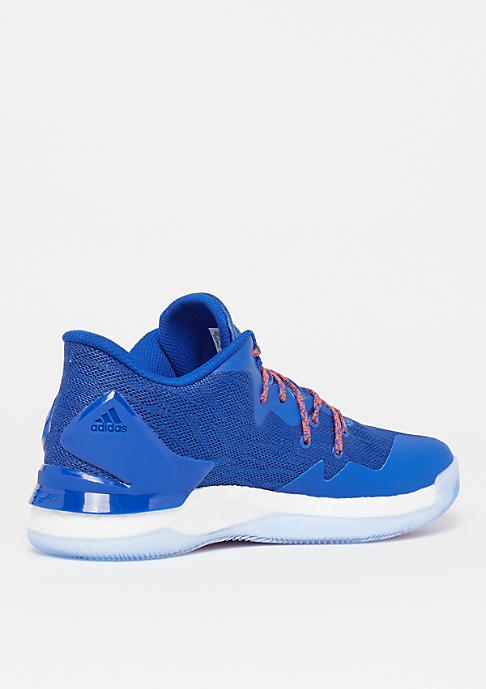 adidas Basketball D Rose 7 Low blue sld/footwear white/orange sld