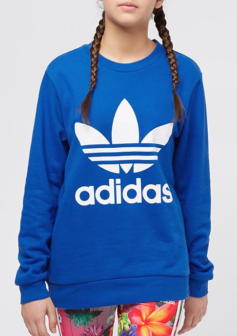 adidas Kids Trefoil Crew blue/white