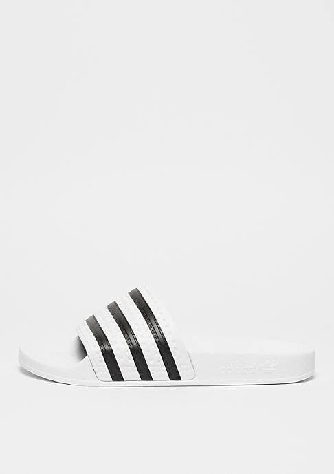 adidas Adilette white/black/white