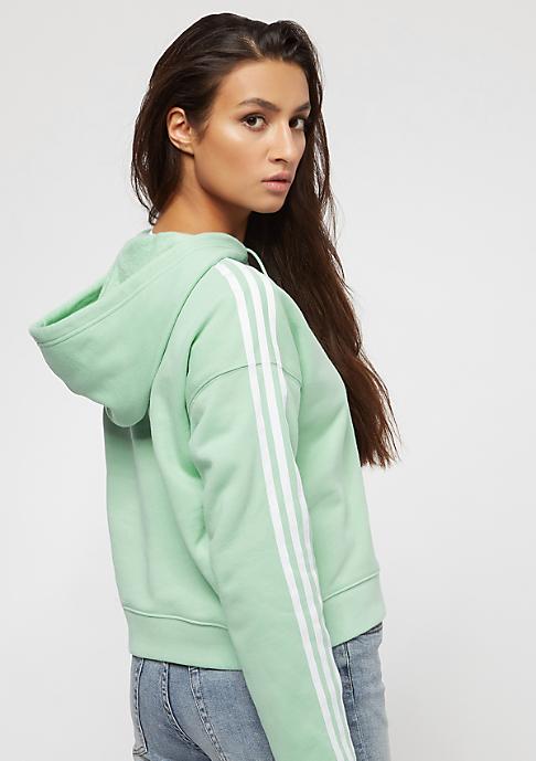 adidas Cropped blush green