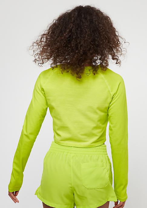 adidas The Dye Pack Crop LS crunch wash yellow