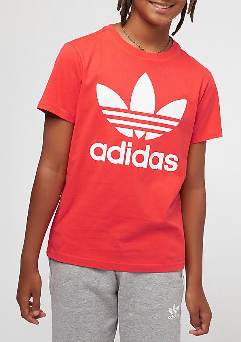 adidas Junior Trefoil bright red/white