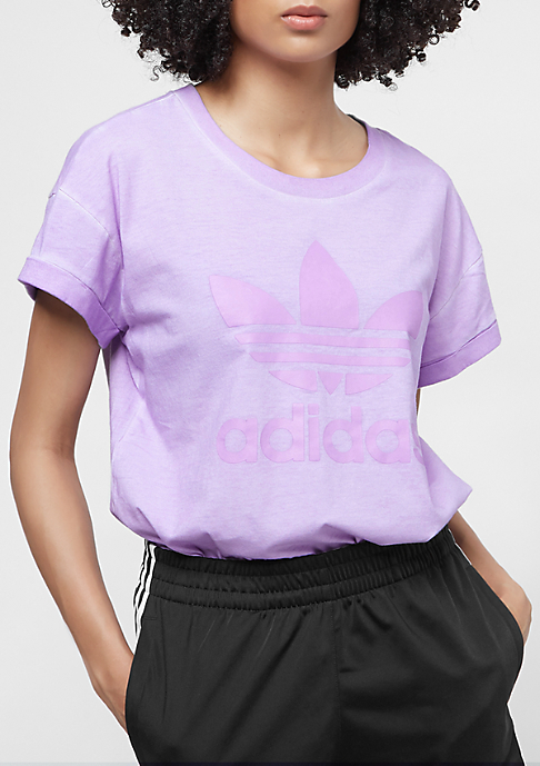 adidas The Dye Pack Loose BF Tee crunch wash purple