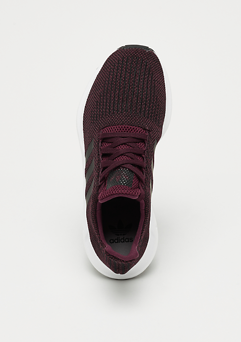 adidas Swift Run maroon/core black/white