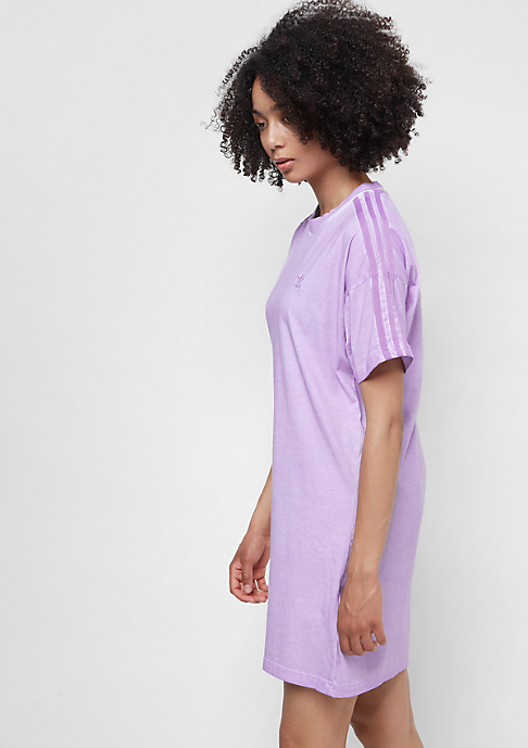 adidas The Dye Pack Tee Dress crunch wash purple