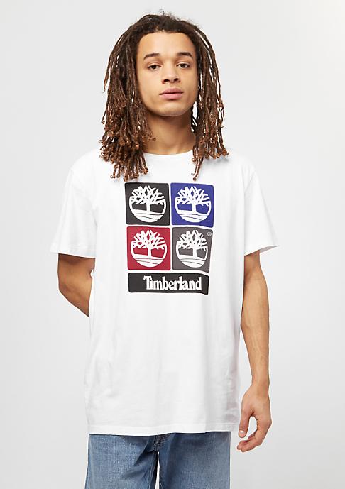 Timberland 90s Logo white