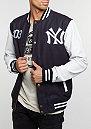 Übergangsjacke Cooperstown Letterman Jacket MLB New York Yankees navy