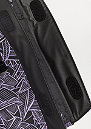 Rucksack Rolltop Leaf black/purple