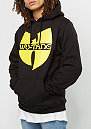 Hooded-Sweatshirt Wu-Logo heather black/yellow