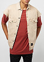 Sleveless Denim Jacket sand