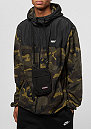 Block Fleece black/camo