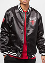 Tip Off Sateen Bomber Chicago Bulls black