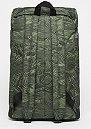 Classic Outdoor mosstone woodgrain print/black/black lining